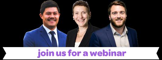 image of webinar speakers