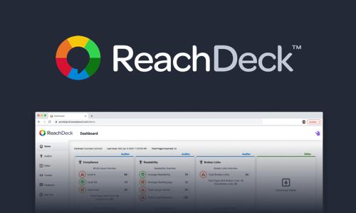 ReachDeck Dashboard